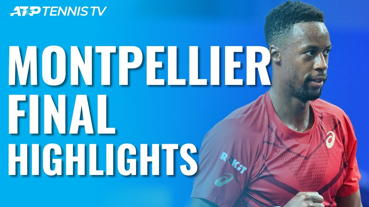 Monfils Wins 3rd Montpellier Title with Victory over Pospisil