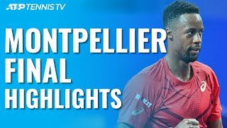 Monfils Wins 3rd Montpellier Title With Victory Over Pospisil   Montpellier 2020 Final Highlights