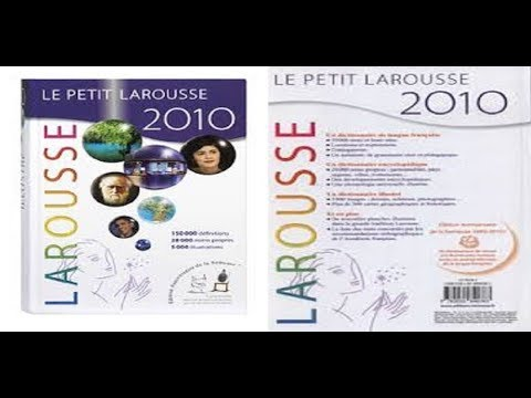 comment installer le petit  larousse 2010
