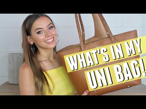 WHAT'S IN MY UNI BAG?! | What I take to university!