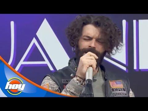 ¡Adrián Di Monte Se Pone Muy Romántico!   Canta La Palabra   Hoy