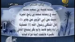 صحيح مسلم - باب إئتمام المأموم بالإمام