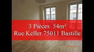 Appartement location 3 pieces 54m² Bastille 75011, Ack feeling *44* Mp3