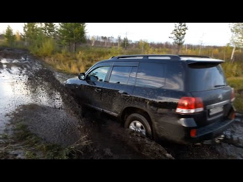 видео: Офигеть! lexus и land cruiser 200 по грязи