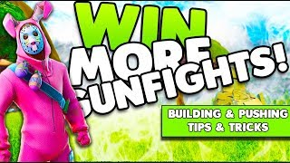 Building & Pushing Tips To Win More Gunfights! | Getting Highground Back! | Fortnite Battle Royale