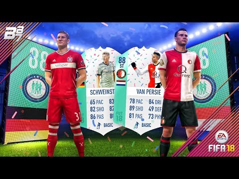 FUT BITHDAY SBCS UNLOCKED! 88 VAN PERSIE AND 88 SCHWEINSTEIGER! | FIFA 18 ULTIMATE TEAM