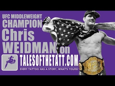 UFC Middleweight Champion Chris Weidman on tales of the tatt