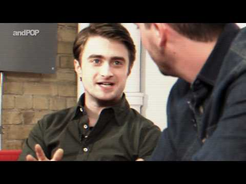 Daniel Radcliffe Interview - Daniel Is Afraid Of What? (1 of 2)