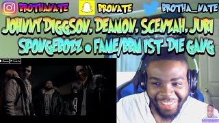 JOHNNY DIGGSON ft. DEAMON, SCENZAH, JURI & SPONGEBOZZ - Fame/BBM ist die Gang |JMC| FINALE REACTION!