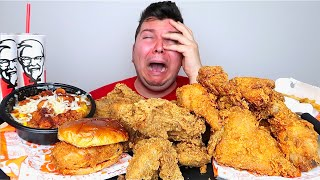 my life is over.... KFC mukbang