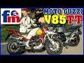 Moto Guzzi V85 Tt   Review Y Prueba