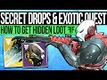 Destiny 2 | SECRET ENEMY LOOT & EXOTIC QUEST! Hidden Themed Gear, Awoken Exotic, Scorn Weapon & More