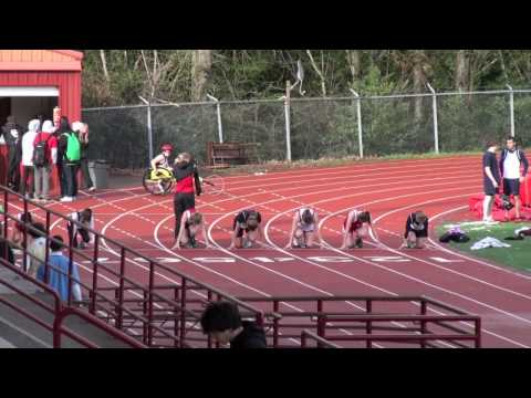OCHS vs Canby & Pdx Christian Girls 100m