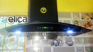 How to use auto clean chimney? →BEST CHOICE← Elica WD Hac Touch BF90 ||বাংলা bangla-AMAZON #2018