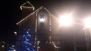 Новогоднее оформление дома,монтаж гирлянд,праздничная иллюминация(Новогоднее оформление домов и праздничная иллюминация от нашей компании,Любые виды сложности.Гарантия..., 2014-10-27T17:11:40.000Z)