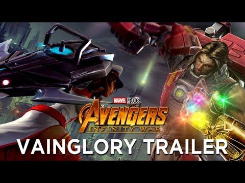 Vainglory: Infinity War Trailer (Avengers: Infinity War Style)