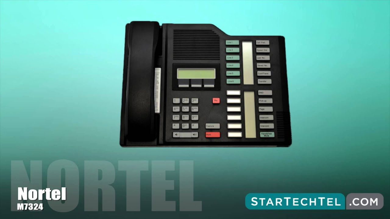 Nortel M7324 phone