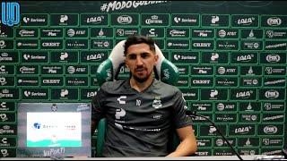 El jugador chileno de los laguneros, habló en videoconferencia, previo al duelo de ida de las semifinales ante el Puebla