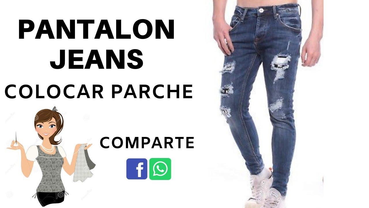 Parches Para Jeans Parche Casero Youtube