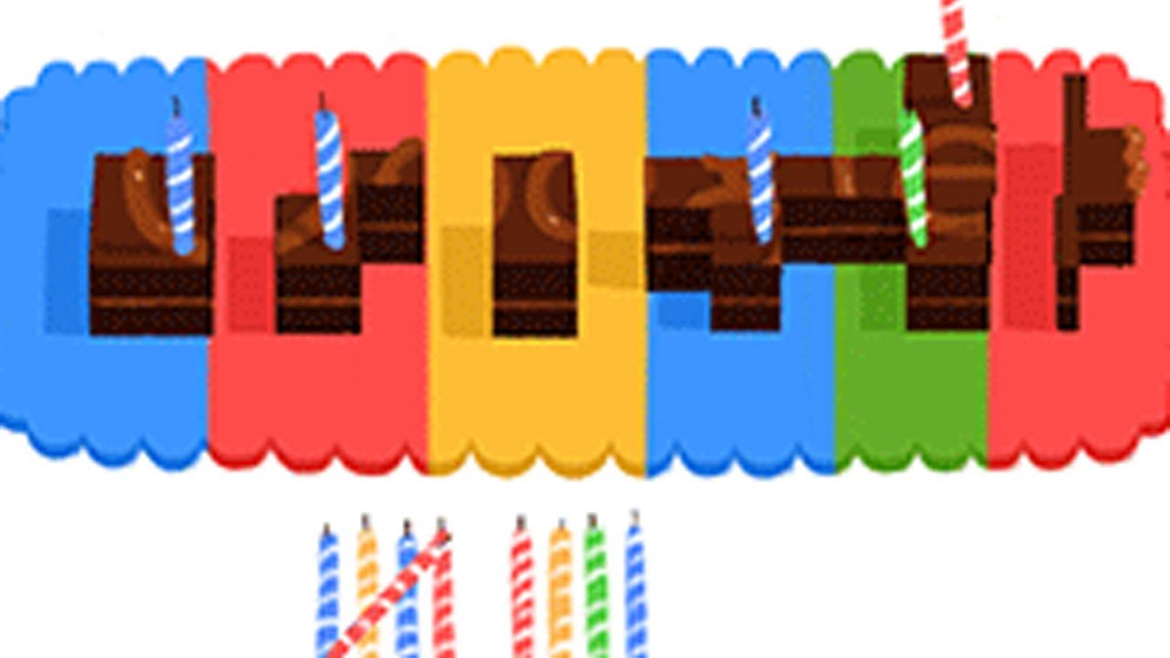 Google 14th Birthday Doodle - YouTube