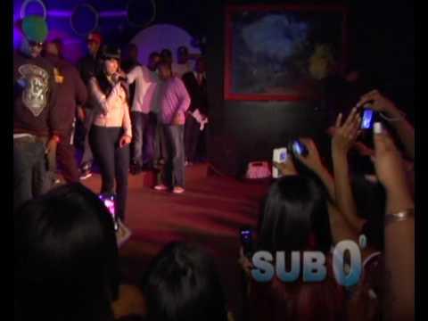Nicki Minaj - Live on stage - new 2010