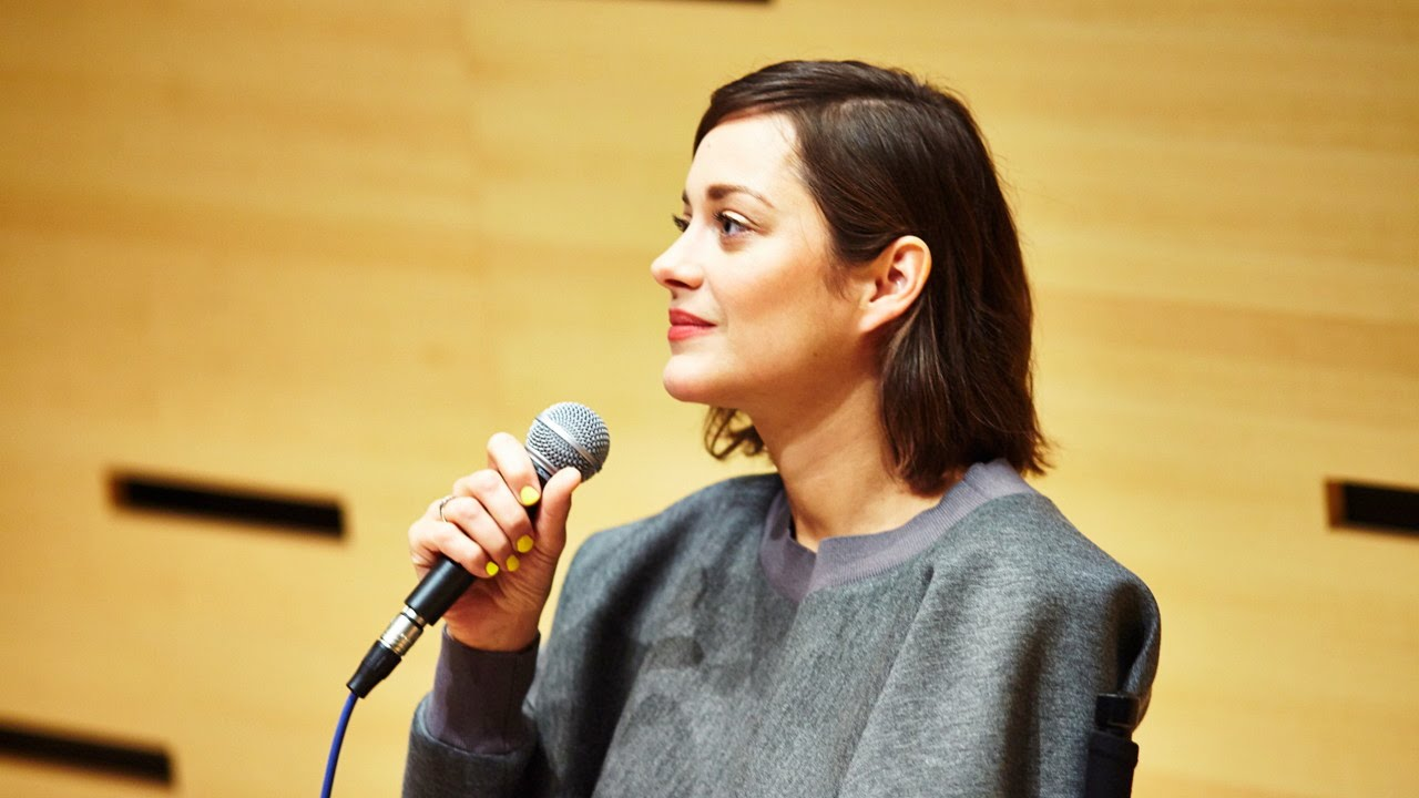 """NYFF52 Live: Marion Cotillard 