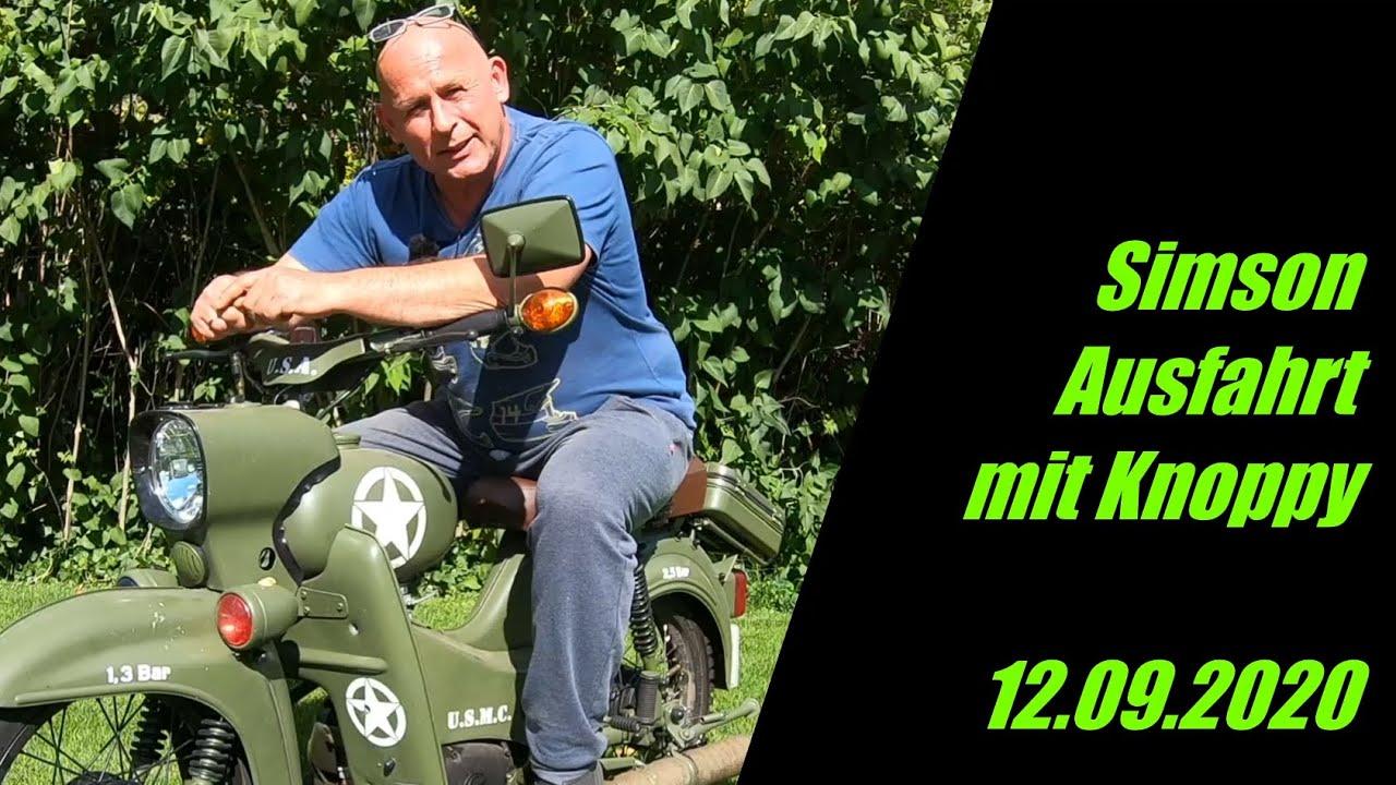 Ausfahrt mit Knoppy von Potsdam nach Germendorf    Kultvögel    12.09.2020    2Stroke