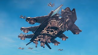 INSANE SKY FORTRESS DLC! (Just Cause 3 Funny Moments)