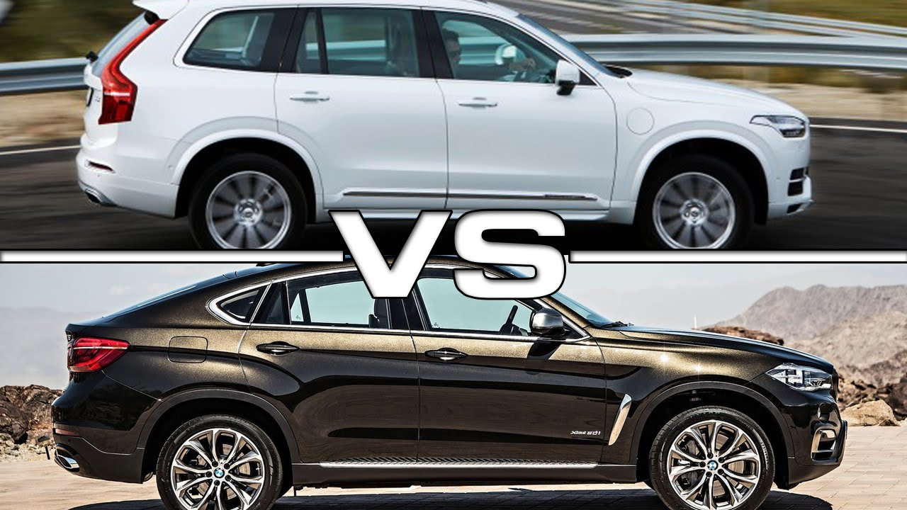 2016 Volvo Xc90 Vs 2015 Bmw X6 Youtube