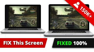 NFS Most Wanted Wide/Full Screen RESOLUTION fixed