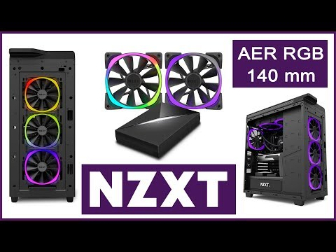 NZXT AER RGB Fans - Unboxing & Cable Connection Guide