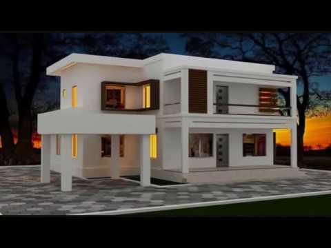 Façade maison moderne - YouTube