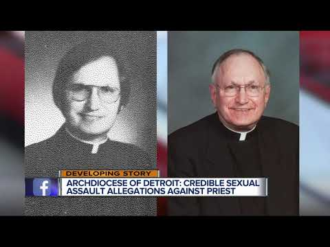 Archdiocese of Detroit: Priest removed from ministry due to credible allegations of sexual abuse