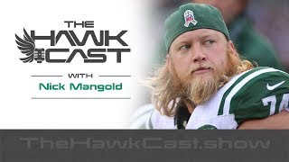 Nick Mangold: College Roommate, 11yrs as Jets Center, Recently Retired - The HawkCast