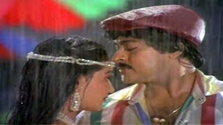 Adavi Donga Movie Song - Vana Vana Vandanam - Chiranjeevi, Radha