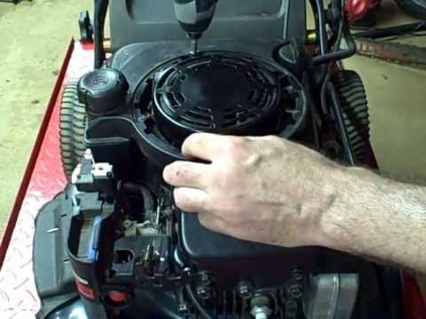 Small Engine Repair: Replacing the Starter Pull Cord on a Briggs & Stratton Walk Behind LawnMower