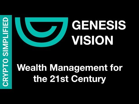 Genesis Vision GVT - Cryptocurrency & Fiat Wealth Management on the Blockchain?