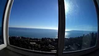 Пентхаус в центре Сочи. Вид на море из квартиры.