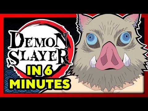 Demon Slayer in 6 Minutes! | TeamFourStar (TFS)