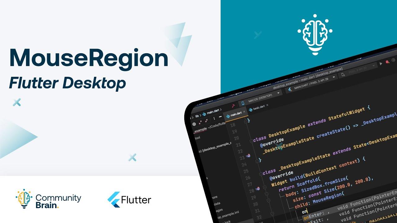 Flutter Desktop - MouseRegion