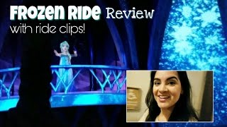 frozen ever after ride review at epcot disneyworld
