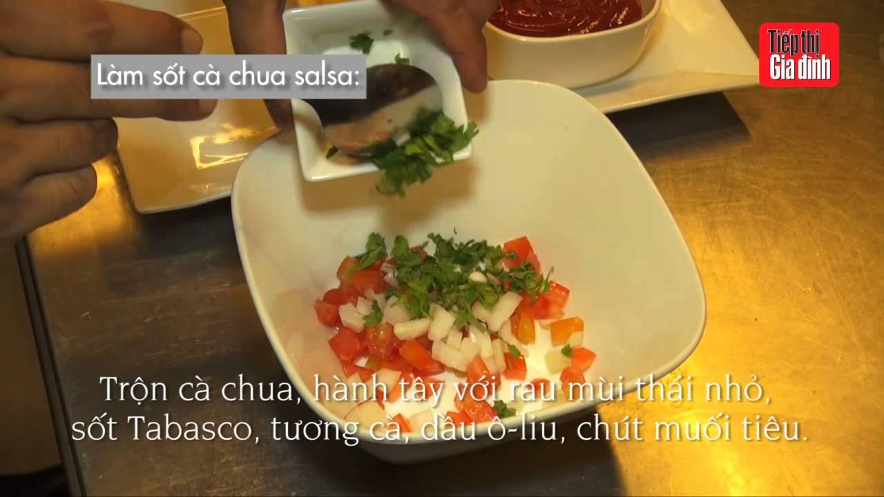 Hướng dẫn món Gà nướng sốt cà chua salsa – TTGĐ 23/15