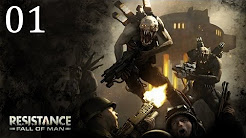 Let´s Play Resistance Fall of Man (HD,Deutsch,Ps3)