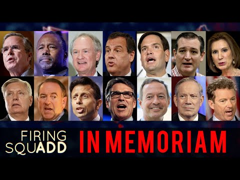Presidential Candidates in Memoriam - Firing SquADD ft. Maronzio Vance