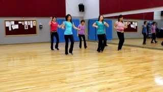 Jumpin Up - Line Dance (Dance & Teach in English & 中文)
