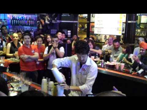 Asia-Pacific Bartending Champ 2012 Hiroyuki Mark Yamada from Japan
