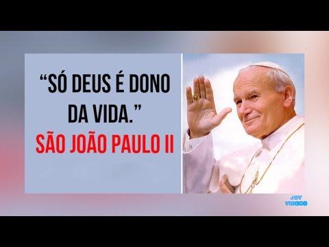Mensagens Do Papa João Paulo Ii Karol Józef Wojtyła Youtube