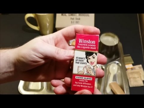 1964 MCI Or C Ration With Winston Cigarettes