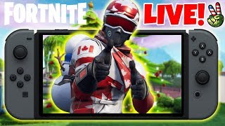 Pro Nintendo Switch Player! // Fingers Slipped! // (Fortnite Battle Royale LIVE)