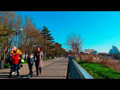 Анапа 2017 пешком по городу 23 марта